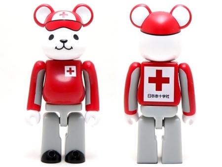 日本赤十字社 CroKuma 救護服 Ver ベアブリック (BE@RBRICK)