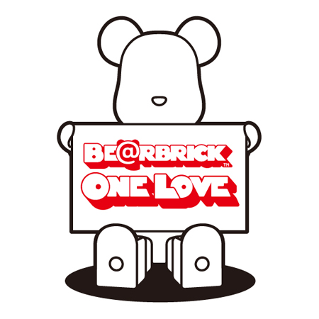 ONE LOVE 70% ベアブリック(BE@RBRICK)