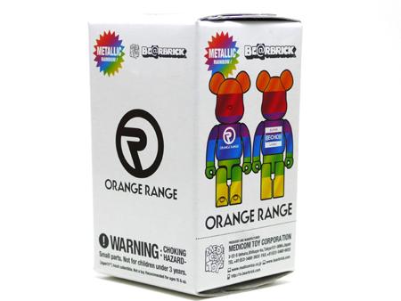 ORANGE RANGE (オレンジレンジ) RAINBOW METALLIC ベアブリック(BE@RBRICK)