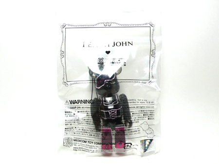 PEACH JOHN BLACK clear Ver ベアブリック(BE@RBRICK)