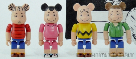 PEANUTS 60YEARS WORLD TOUR 4種 ベアブリック(BE@RBRICK)