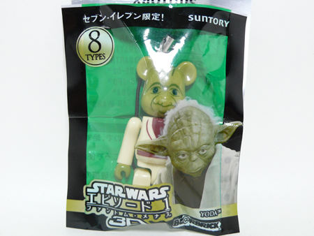 PEPSI NEX STAR WARS 3D Episode 1 70% ベアブリック(BE@RBRICK) ヨーダ