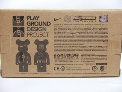 PLAY GROUND DESIGN PROJECT 100% ベアブリック(BE@RBRICK)