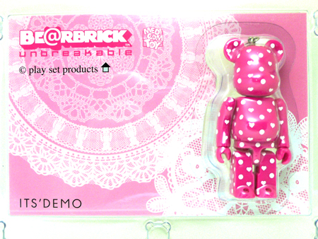 play set products ITS'DEMO ピンク ベアブリック(BE@RBRICK)