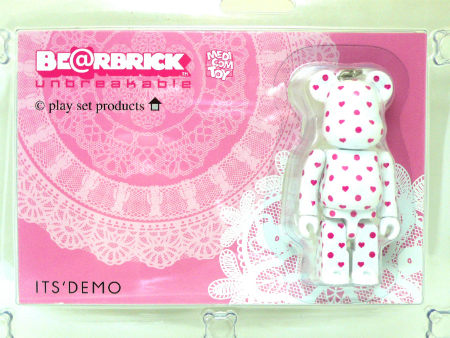 play set products ITS'DEMO ホワイト ベアブリック(BE@RBRICK)