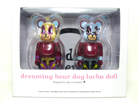 play set products Lucha 2pc ベアブリック(BE@RBRICK)