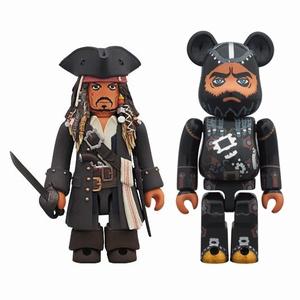 パイレーツ オブ カリビアン Blackbeard 2pc ベアブリック(BE@RBRICK)