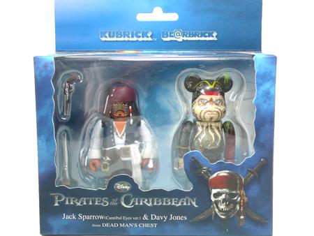 パイレーツ オブ カリビアン Davy Jones 2pc ベアブリック(BE@RBRICK)