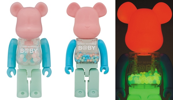 MY FIRST BE@RBRICK B@BY G.I.D. Ver 100% & 400% & 1000% ベアブリック (BE@RBRICK)