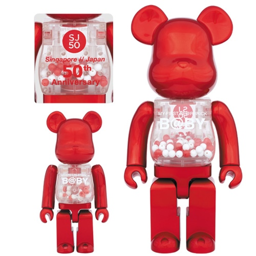 MY FIRST BE@RBRICK B@BY SJ50 100% & 400% ベアブリック (BE@RBRICK)