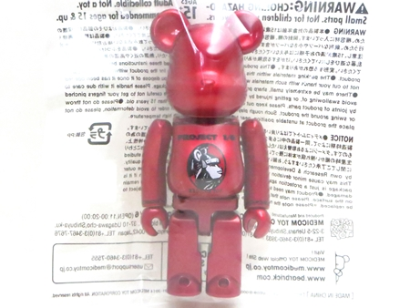1/6計画 NOVELTY 2014 センチュリオン RED 100% ベアブリック (BE@RBRICK)