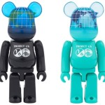 1/6計画 NOVELTY EARTH 100% (COSMIC BLACK / OCEAN BLUE) ベアブリック (BE@RBRICK) [情報]