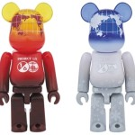 1/6計画 NOVELTY EARTH 100% (VOLCANO RED / SNOW WHITE) ベアブリック (BE@RBRICK) [情報]