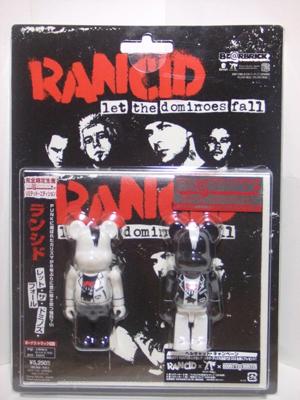 RANCID(ランシド) 2pc ベアブリック(BE@RBRICK)