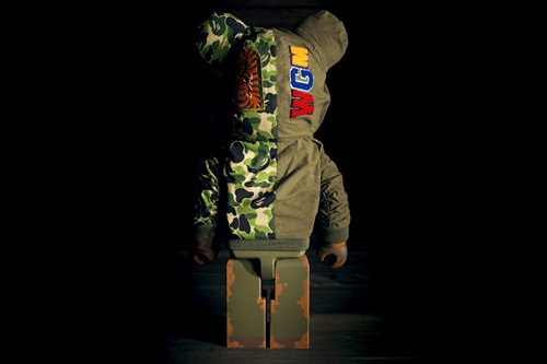 READYMADE x Maxfield × A BATHING APE 1000% ベアブリック (BE@RBRICK)