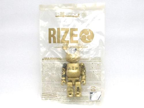 RIZE ゴールド ベアブリック (BE@RBRICK)