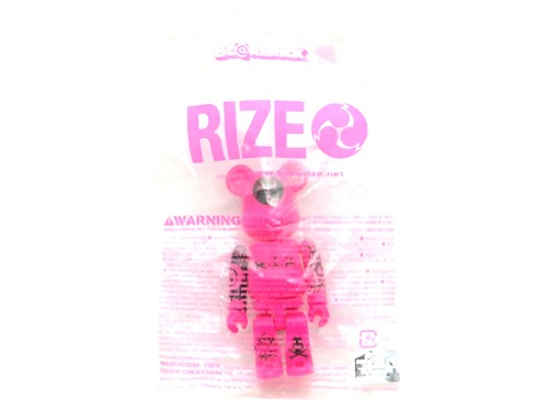 RIZE ピンク ベアブリック (BE@RBRICK)
