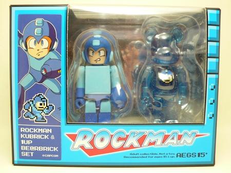 ROCKMAN 2pc ベアブリック (BE@RBRICK)