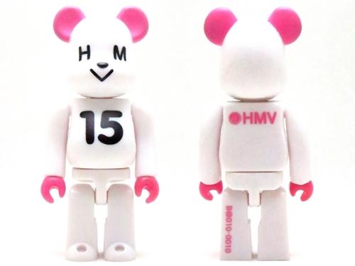 HMV ホワイト シリーズ10 ベアブリック (BE@RBRICK)