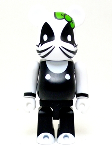 KISS KELLO KITTY THE CATMAN シリーズ25 ベアブリック(BE@RBRICK)