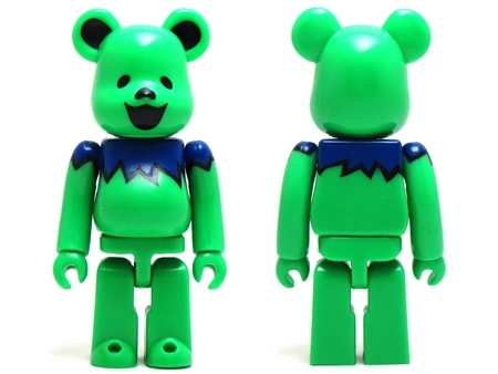 裏GRATEFUL DEAD DANCING BEARS シリーズ29 ベアブリック (BE@RBRICK)