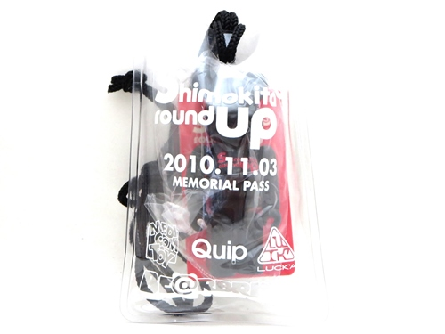 shimokita round up3 STAFF PASS ベアブリック (BE@RBRICK)