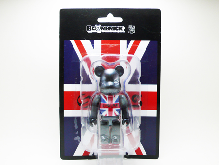 SILAS UNION JACK BLACK ver. ベアブリック(BE@RBRICK)