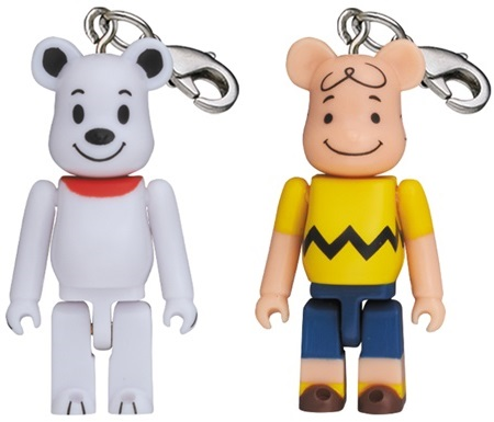 SNOOPY & CHARLIE BROWN 50% ベアブリック (BE@RBRICK)