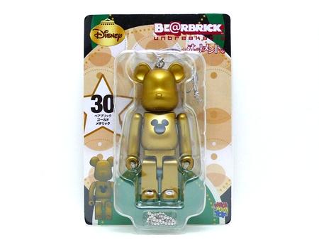 Specialくじ Disney ゴールドメタリック ベアブリック(BE@RBRICK)