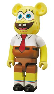 スポンジボブ(Sponge Bob) 1000% ベアブリック(BE@RBRICK)