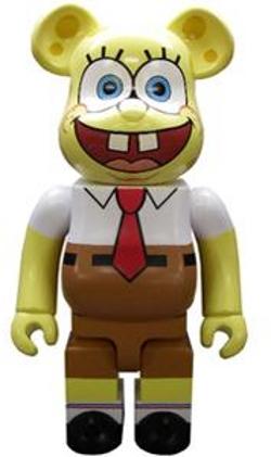スポンジボブ(Sponge Bob) 400% ベアブリック(BE@RBRICK)
