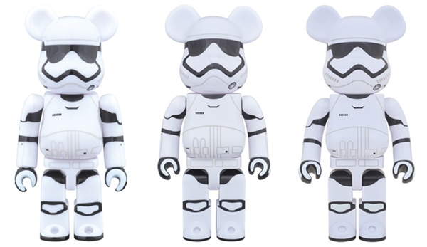 STAR WARS FIRST ORDER STORMTROOPER 100% 400% 1000% ベアブリック (BE@RBRICK)