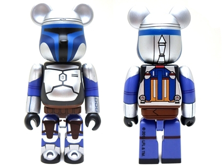 STAR WARS JANGO FETT & BOBA FETT 2pc ベアブリック (BE@RBRICK)