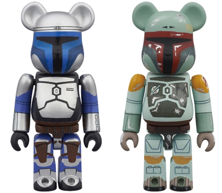 STAR WARS JANGO FETT & BOBA FETT 2pc ベアブリック(BE@RBRICK)