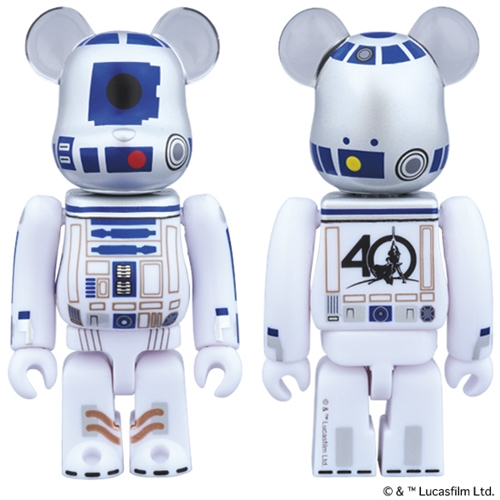 STAR WARS R2-D2 40th AnniVersary Ver ベアブリック (BE@RBRICK)