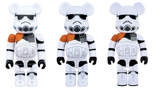 STAR WARS SANDTROOPER 100% 400% 1000% ベアブリック (BE@RBRICK)