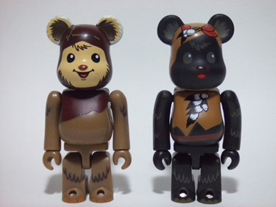 STAR WARS WICKET & PAPLOO 2pc ベアブリック(BE@RBRICK)