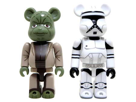 STAR WARS YODA & CLONE TROOPER 2pc ベアブリック (BE@RBRICK)