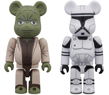 STAR WARS YODA & CLONE TROOPER 2pc ベアブリック(BE@RBRICK)
