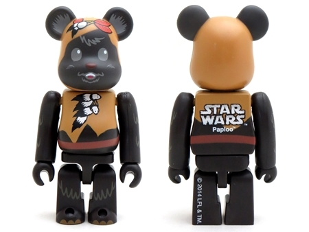 STAR WARS PAPLOO & TEEBO 2pc ベアブリック (BE@RBRICK)