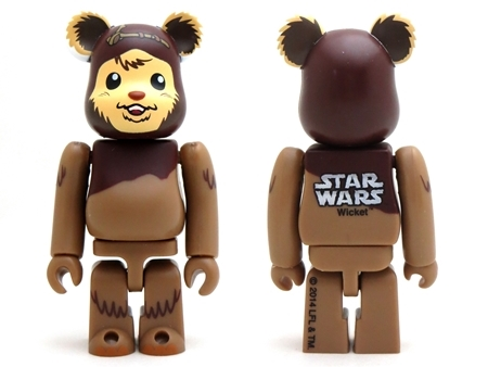 STAR WARS WICKET & ROMBA 2pc ベアブリック (BE@RBRICK)