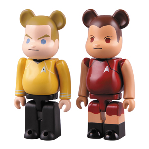 JAMES T. KIRK & UHURA 2pc ベアブリック(BE@RBRICK)