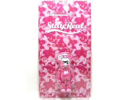 STAYREAL PINK CAMO ベアブリック (BE@RBRICK)