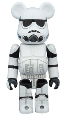 STORM TROOPER CHROME Ver 100% ベアブリック (BE@RBRICK)