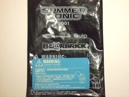 SUMMER SONIC 01 (サマーソニック 01) ベアブリック(BE@RBRICK)