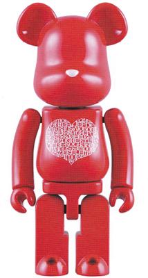 超合金 200% International Love Heart ベアブリック(BE@RBRICK)