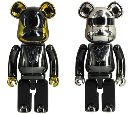 超合金 200% Daft Punk Random Access Memories Ver 2pc ベアブリック (BE@RBRICK)