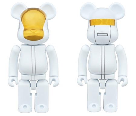 超合金 200% Daft Punk WHITE SUITS Ver 2pc ベアブリック (BE@RBRICK)