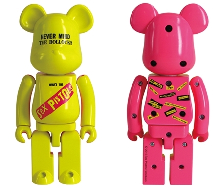 超合金 200% SEX PISTOLS Ver.1 NEVER MIND THE BOLLOCKS Clear Ver ベアブリック (BE@RBRICK)