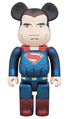 SUPERMAN ジャスティスの誕生 400% ベアブリック (BE@RBRICK)
